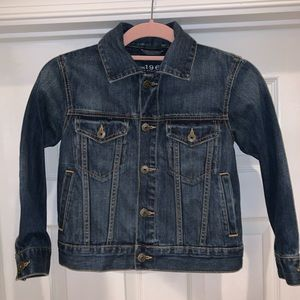 Perfect Gap Girl's Jean Denim Jacket Small 5/6